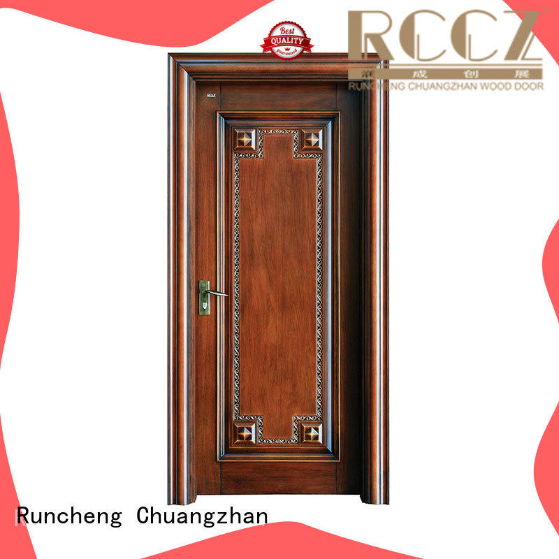 Custom solid wood front doors company for offices