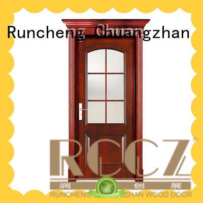 Runcheng Chuangzhan simple wooden door factory for offices