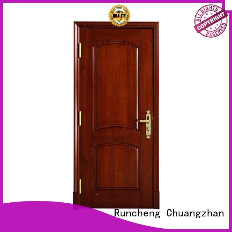 Runcheng Chuangzhan modern wood door Supply for villas