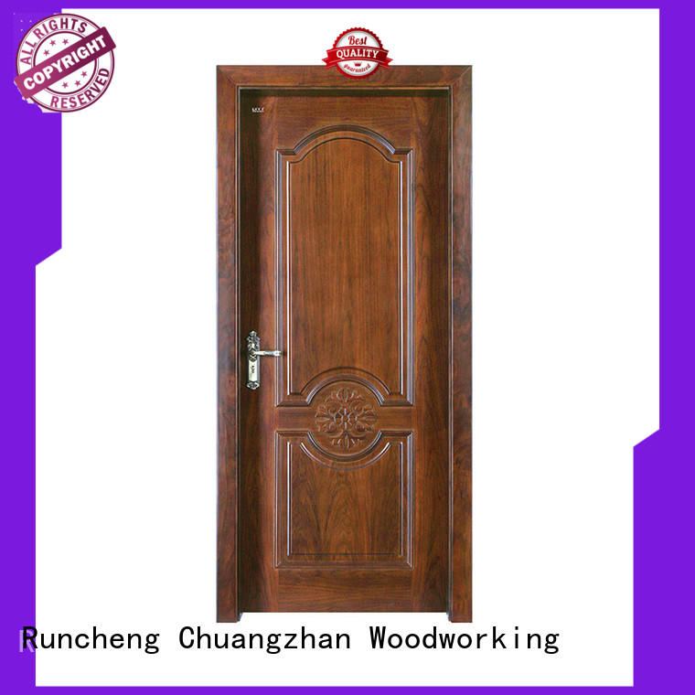 Runcheng Chuangzhan durable solid interior doors Suppliers for hotels