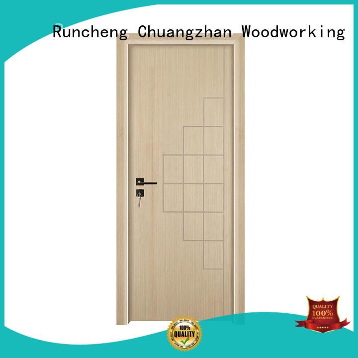 Runcheng Chuangzhan Best veneer interior door supply for indoor
