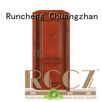 Runcheng Chuangzhan durable veneer interior doors Supply for indoor