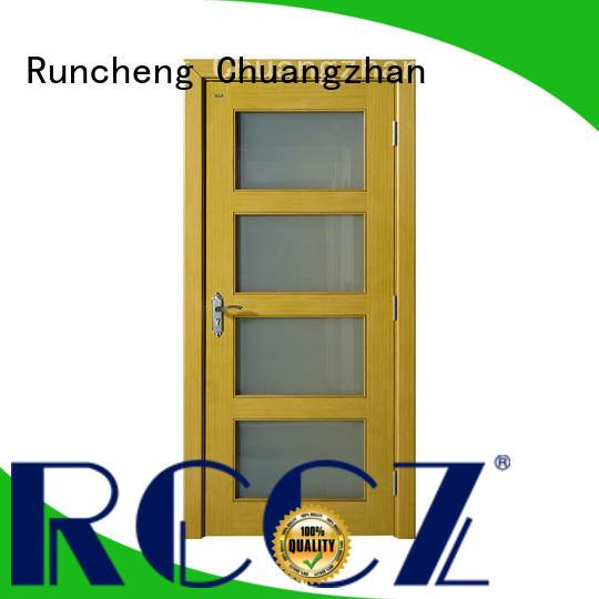 Runcheng Chuangzhan internal wooden doors company for offices