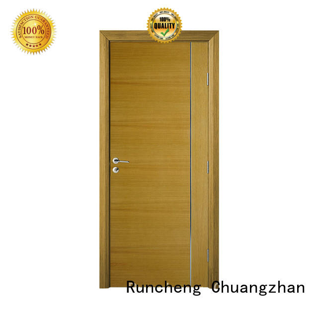 High-quality new wood door factory for offices