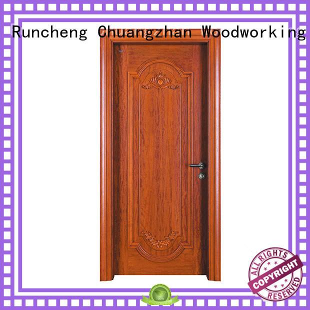 Runcheng Chuangzhan Top classic wood doors suppliers for villas