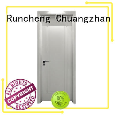 Runcheng Chuangzhan high-quality white painted internal doors manufacturers for indoor