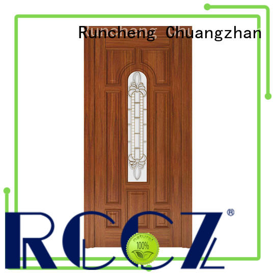 Runcheng Chuangzhan durable exterior door companies Suppliers for homes