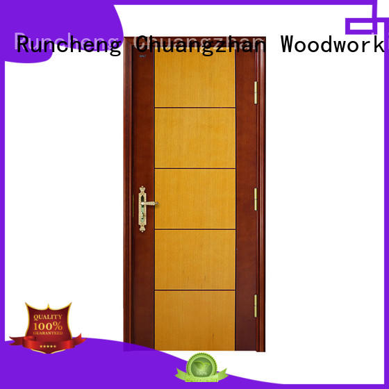 Runcheng Chuangzhan interior wood doors manufacturers for offices