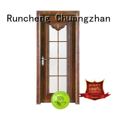 Runcheng Chuangzhan interior wood door design supply for homes