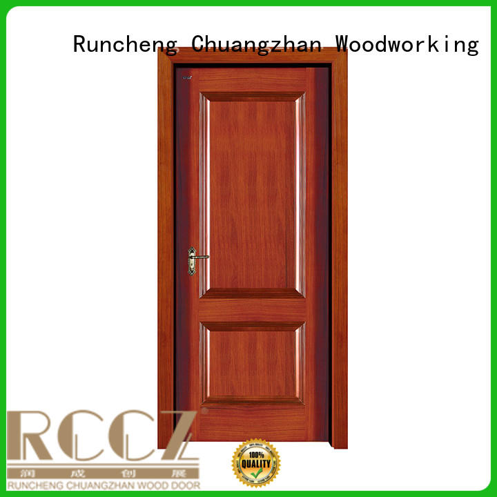 Runcheng Chuangzhan eco-friendly external wood doors Supply for offices