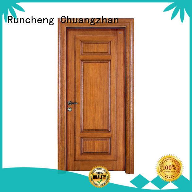 Runcheng Chuangzhan new wooden door for business for hotels