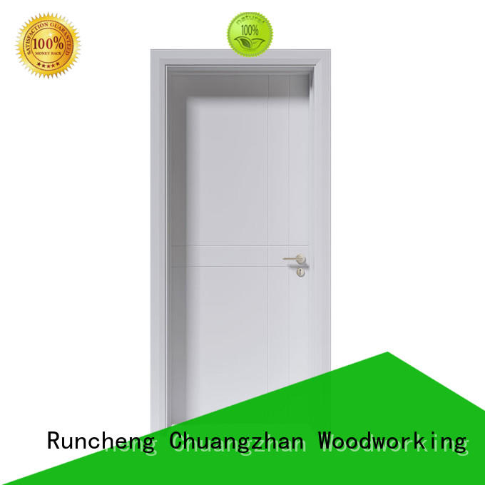 Runcheng Chuangzhan High-quality white painted doors interior suppliers for indoor