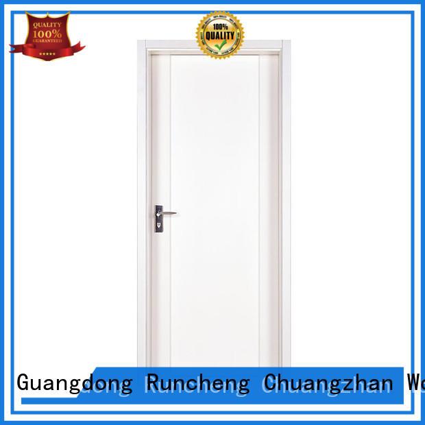 Runcheng Chuangzhan single wood door design for business for villas