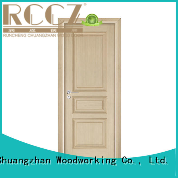 Runcheng Chuangzhan real wood interior doors company for hotels