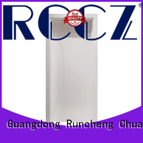 Runcheng Chuangzhan single wood door design company for offices