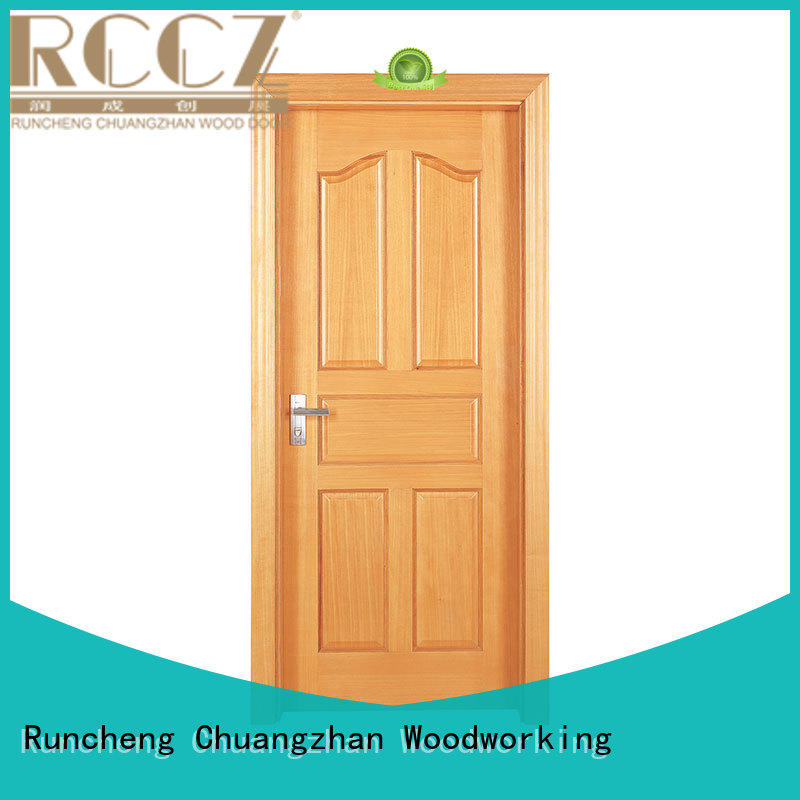 eco-friendly custom solid wood interior doors Supply for indoor