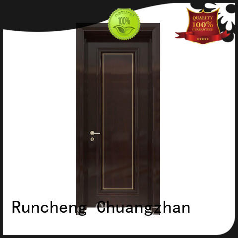 pure natural solid wood doors interior for business for villas
