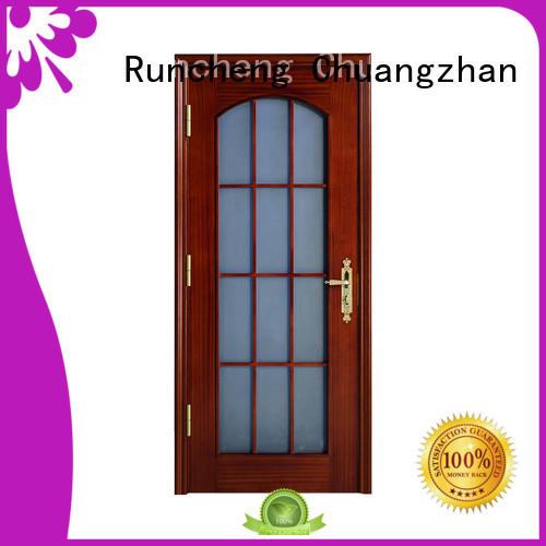 Runcheng Chuangzhan artistic hardwood internal doors for business for offices