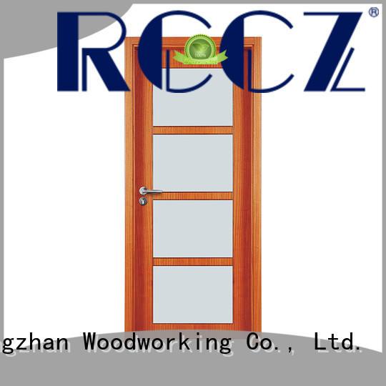 Runcheng Chuangzhan wooden door style Supply for indoor