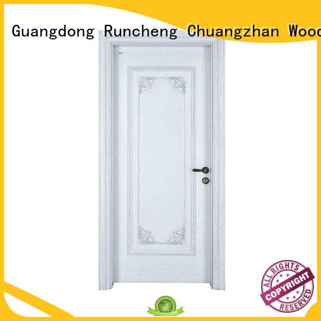 Runcheng Chuangzhan eco-friendly modern exterior doors Supply for offices