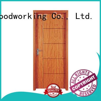 Runcheng Chuangzhan eco-friendly solid interior doors Supply for indoor