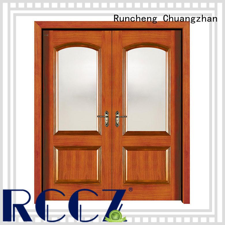 Runcheng Chuangzhan glass exterior doors factory for hotels