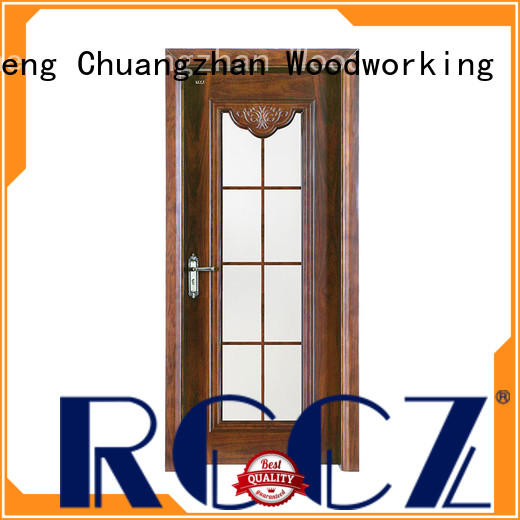 Runcheng Chuangzhan solid wood doors interior Suppliers for hotels