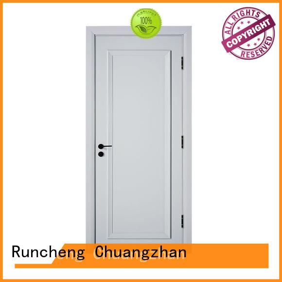 Runcheng Chuangzhan durability finish interior doors Supply for homes