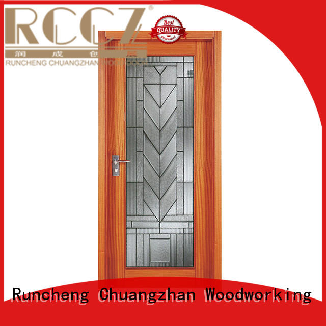 Runcheng Chuangzhan reliable wooden door style Supply for homes