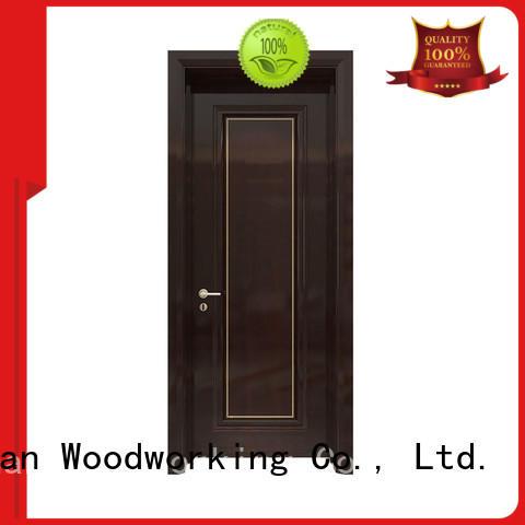 Runcheng Chuangzhan hardwood internal doors Supply for hotels