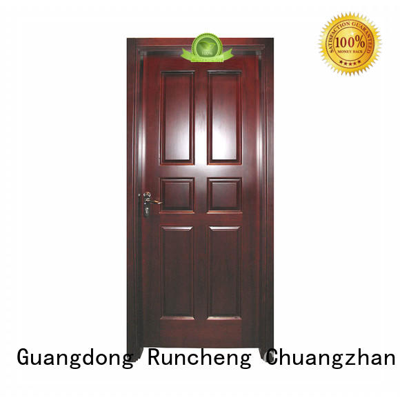Runcheng Chuangzhan pure natural internal veneer doors for business for homes