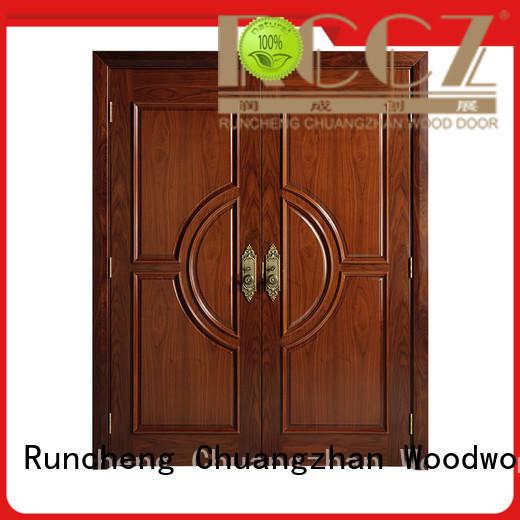 Runcheng Chuangzhan high-quality modern exterior doors for business for homes