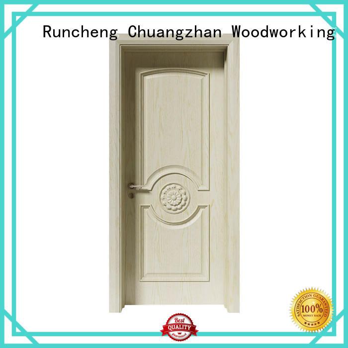 Runcheng Chuangzhan solid wood internal doors factory for hotels