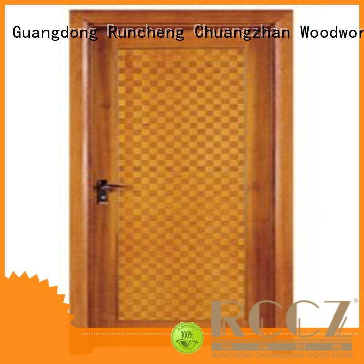 Runcheng Chuangzhan door standard bedroom door Supply for villas