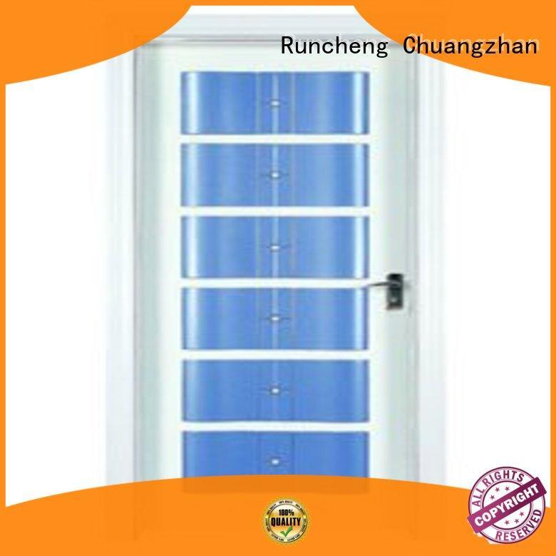 Runcheng Chuangzhan Custom bedroom door designs in wood factory for offices