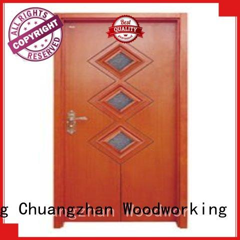Runcheng Chuangzhan high-grade double glazed interior doors Suppliers for offices