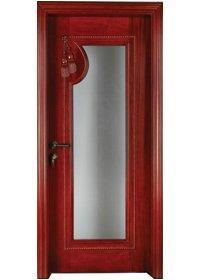 Pure Solid Wood Door S009-3