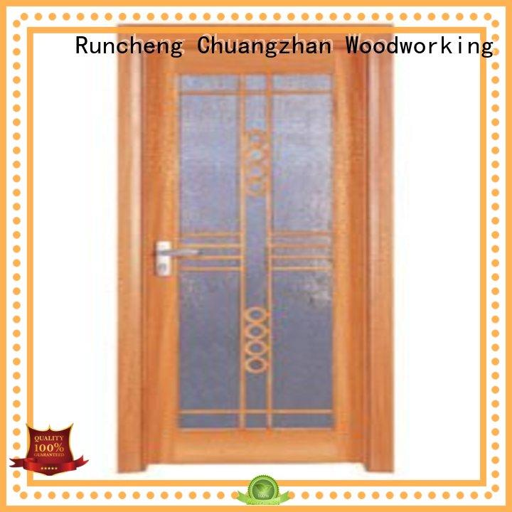 Runcheng Chuangzhan door wooden double glazed doors for business for villas