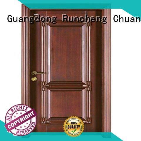 Runcheng Chuangzhan wooden bifold doors for sale for indoor