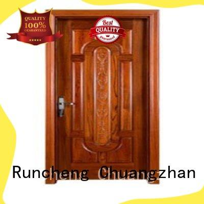 Runcheng Chuangzhan Top solid bedroom doors factory for indoor