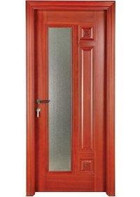 النقي الصلبة الخشب الباب S008-3
