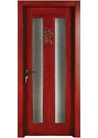 النقي الصلبة الخشب الباب S007-3