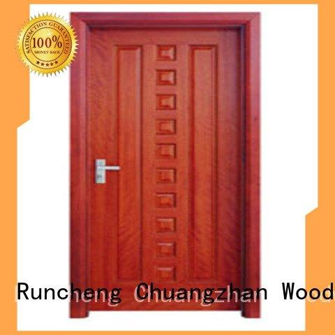 flush mdf interior wooden door p009 pp0073 wooden flush door Runcheng Woodworking Warranty