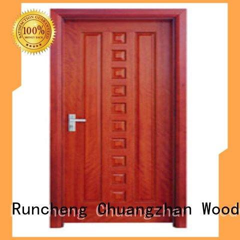 flush mdf interior wooden door p009 pp0073 wooden flush door Runcheng Woodworking Warranty