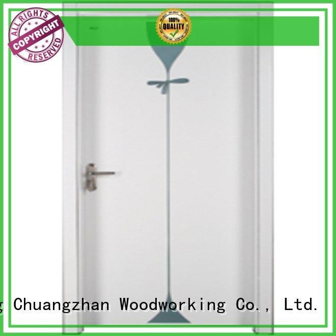 Hot bedroom wooden interior door solid Runcheng Woodworking Brand
