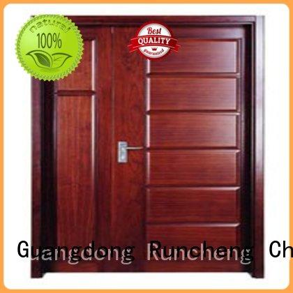 hot selling durable wooden flush door door Runcheng Chuangzhan Brand
