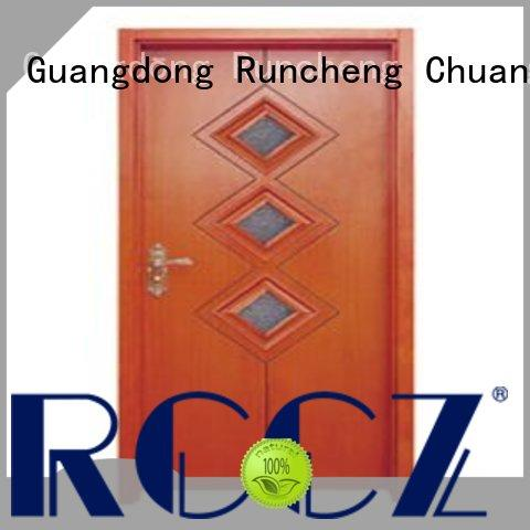 Runcheng Chuangzhan attractive white glazed interior doors Supply for hotels