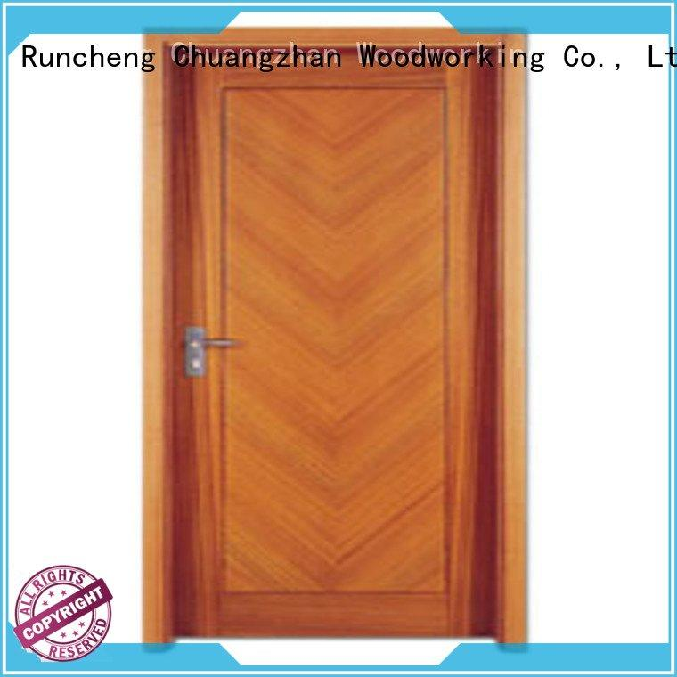 pp0033 pp0023 flush mdf interior wooden door Runcheng Woodworking