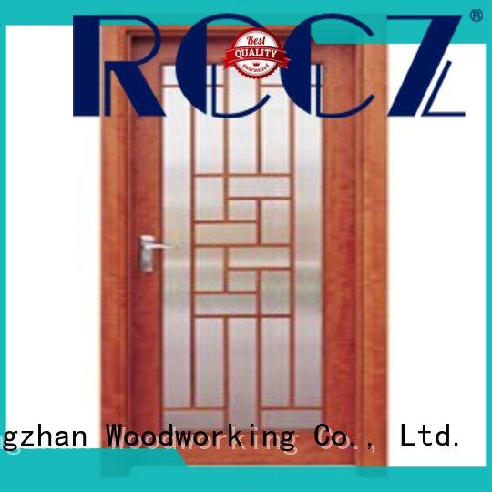 Runcheng Chuangzhan eco-friendly white glazed interior doors company for homes