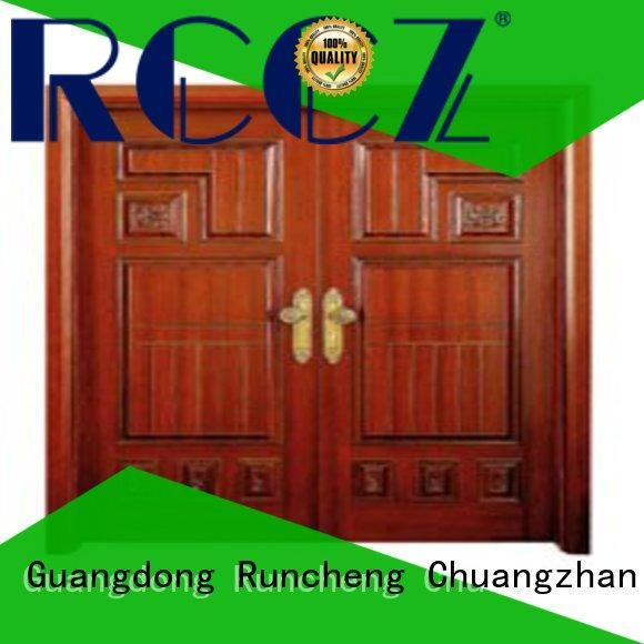 Runcheng Chuangzhan attractive double door design Suppliers for indoor